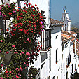Rustic Hotel Spanish White Village Andalucia